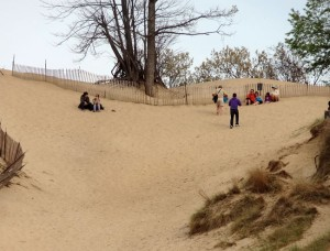 indiana dunes hill