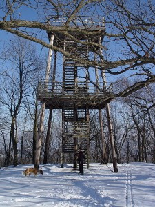 blue mound state park tower