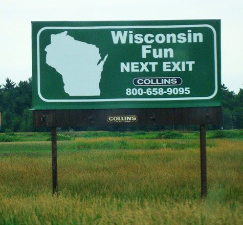 How do the Wisconsin state park sticker fees work?