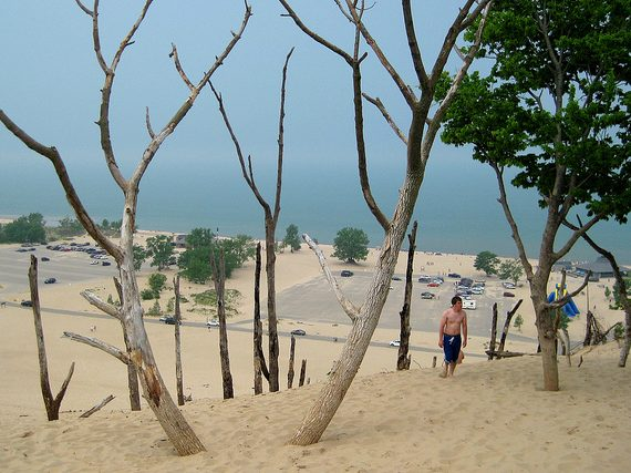 Chicago Area Campgrounds: Warren Dunes State Park (Michigan)